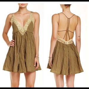 Free People Breathless Mini Dress, XS